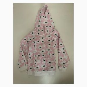 Used Jumping Beans Girls Bow Hoodie - 24 months